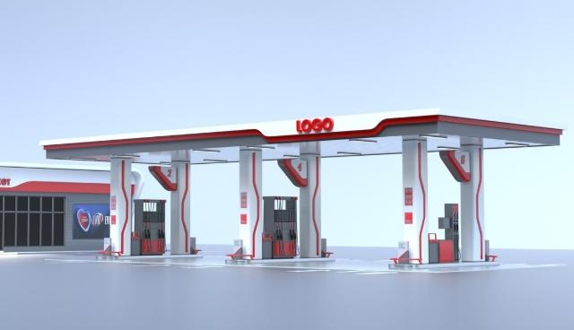 benzin istasyon