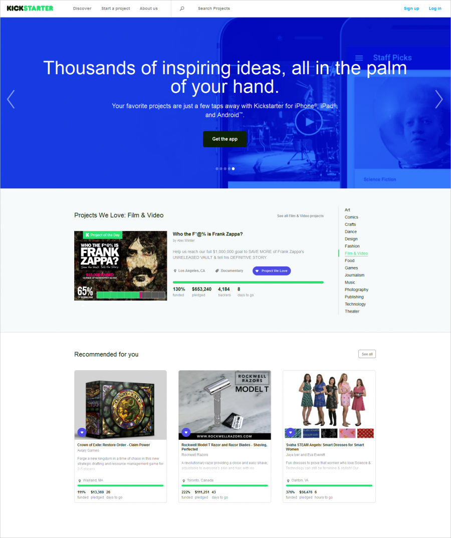 Kickstartercom